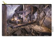 Light Painting In A Gold Mine 2 Carry-all Pouch