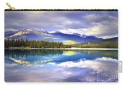 Light Play At Lake Annette Carry-all Pouch