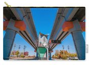 Light Rail Train Station In   Charlotte Nc Carry-all Pouch