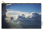 Light Shafts From Thunderstorm II Carry-all Pouch