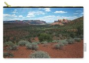 Light Shines On Cathedral Rock Carry-all Pouch