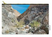 Light Side And Dark Side In Big Painted Canyon In Mecca Hills-ca Carry-all Pouch