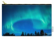 Light Swirl On Rainy Lake Carry-all Pouch