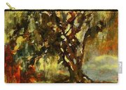 Light Through The Moss Tree Landscape Painting Carry-all Pouch