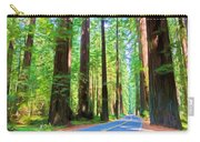Light Through The Redwoods Carry-all Pouch