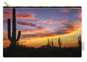 Light Up The Sky Southwest Style  Carry-all Pouch