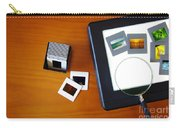 Lightbox With Slides Carry-all Pouch