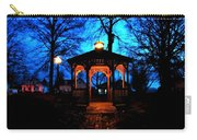 Lighted Gazebo Sunset Park Carry-all Pouch