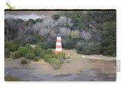 Lighthouse Aerial Near Jekyll Island Carry-all Pouch