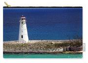 Lighthouse Along Coast Of Paradise Island Bahamas Carry-all Pouch