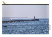 Lighthouse And A Sailing Boat Carry-all Pouch