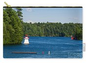Lighthouse And Boathouse Carry-all Pouch