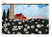 Lighthouse And Daisies Carry-all Pouch