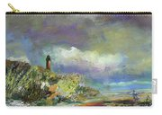 Lighthouse And Fisherman Carry-all Pouch