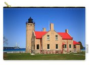 Lighthouse And Mackinac Bridge Carry-all Pouch