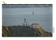 Lighthouse And Sailboat Carry-all Pouch