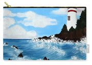 Lighthouse And Sunkers Carry-all Pouch