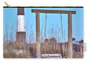 Lighthouse And Swing Carry-all Pouch