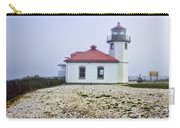 Lighthouse At Alki Beach Carry-all Pouch
