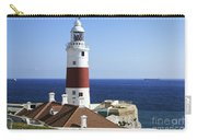 Lighthouse At Europa Point Gibraltar Carry-all Pouch