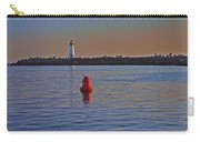 Lighthouse At Harbor Carry-all Pouch