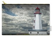 Lighthouse At North Cape On Prince Edward Island Carry-all Pouch