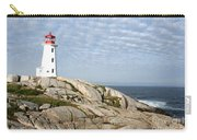 Lighthouse At Peggys Point Nova Scotia Carry-all Pouch