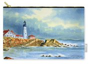 Lighthouse At Portland Head Maine Carry-all Pouch