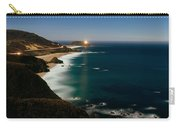 Lighthouse At The Coast, Moonlight Carry-all Pouch