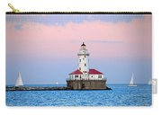 Lighthouse At The Navy Pier Carry-all Pouch