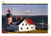 Lighthouse At West Quoddy Head Carry-all Pouch