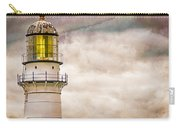 Lighthouse Cape Elizabeth Maine Carry-all Pouch by Bob Orsillo