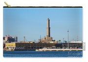 Lighthouse In Genova. Italy Carry-all Pouch