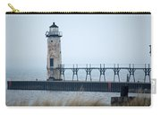 Lighthouse In Haze Carry-all Pouch
