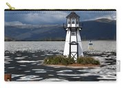 Lighthouse In Lake Dillon Carry-all Pouch