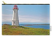 Lighthouse In Louisbourgh-ns Carry-all Pouch