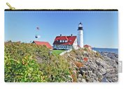 Lighthouse Of Maine Carry-all Pouch