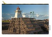 Lighthouse On A Channel By Cascumpec Bay On Prince Edward Island No. 094 Carry-all Pouch