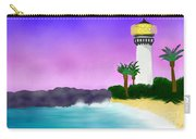 Lighthouse On Beach Carry-all Pouch