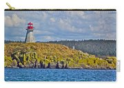 Lighthouse On Brier Island In Digby Neck-ns Carry-all Pouch