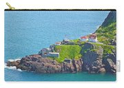 Lighthouse On Point In Signal Hill National Historic Site In Saint John's-nl Carry-all Pouch