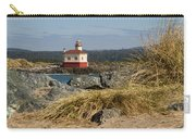 Lighthouse Over The Dunes Carry-all Pouch