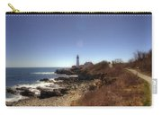 Lighthouse Path Carry-all Pouch by Joann Vitali