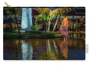 Lighthouse Reflection Carry-all Pouch by Adrian Evans