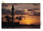 Lighthouse Sun Rays Carry-all Pouch
