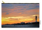 Lighthouse Sunset By Jan Marvin Carry-all Pouch