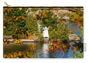 Lighthouse Through The Leaves Carry-all Pouch
