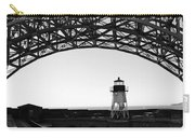 Lighthouse Under Golden Gate Carry-all Pouch
