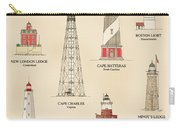 Lighthouses Of The East Coast Carry-all Pouch