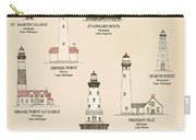 Lighthouses Of The Great Lakes Carry-all Pouch